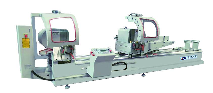 铝塑型材双头切割锯LJJZ2-450X3700A